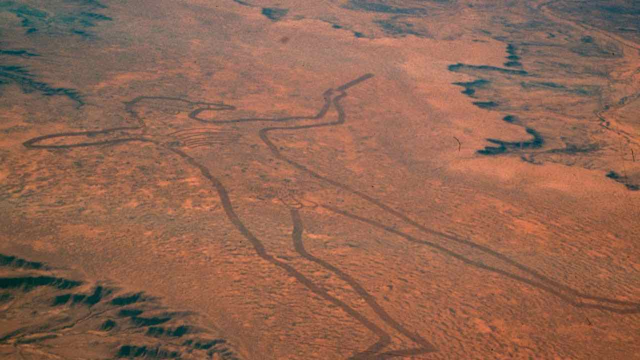 Marree Man Someone Made The World's Largest Geoglyph In South Australia