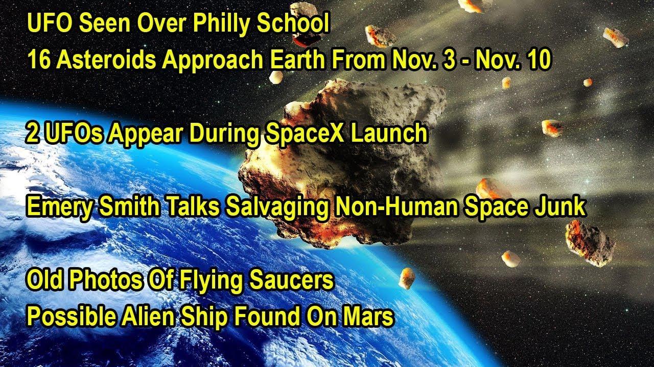 alien ship found