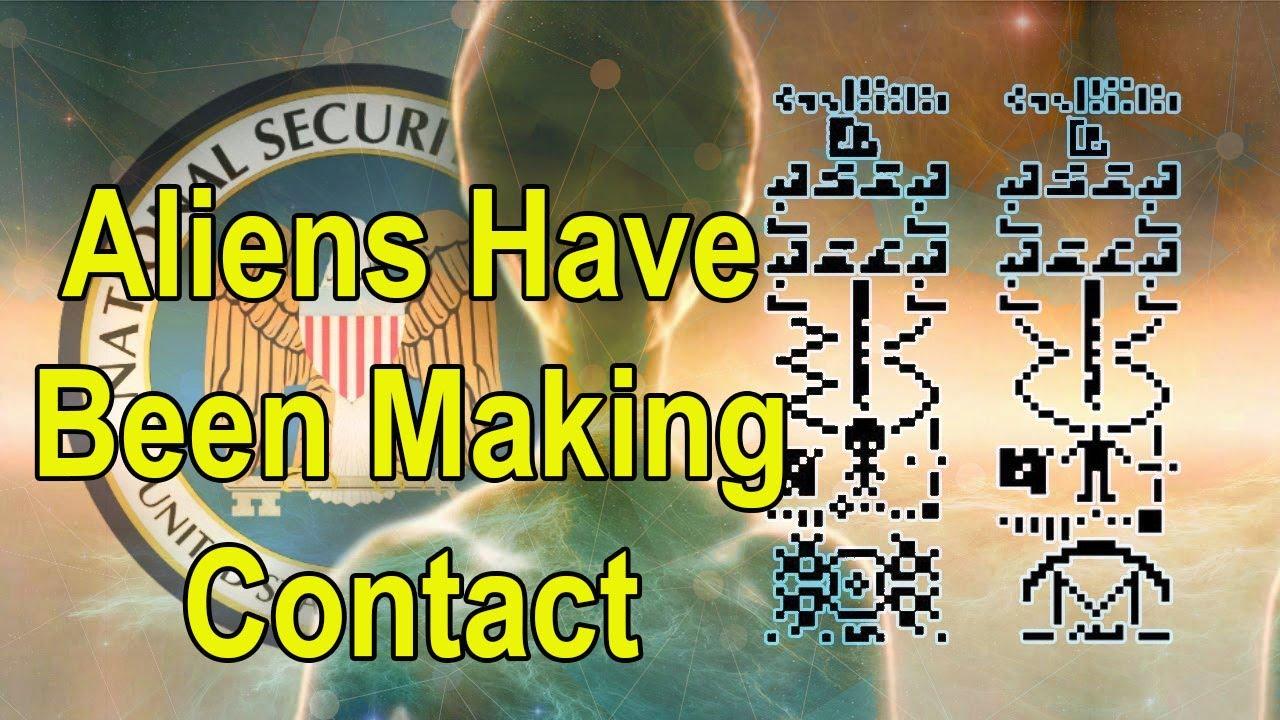 aliens make contact