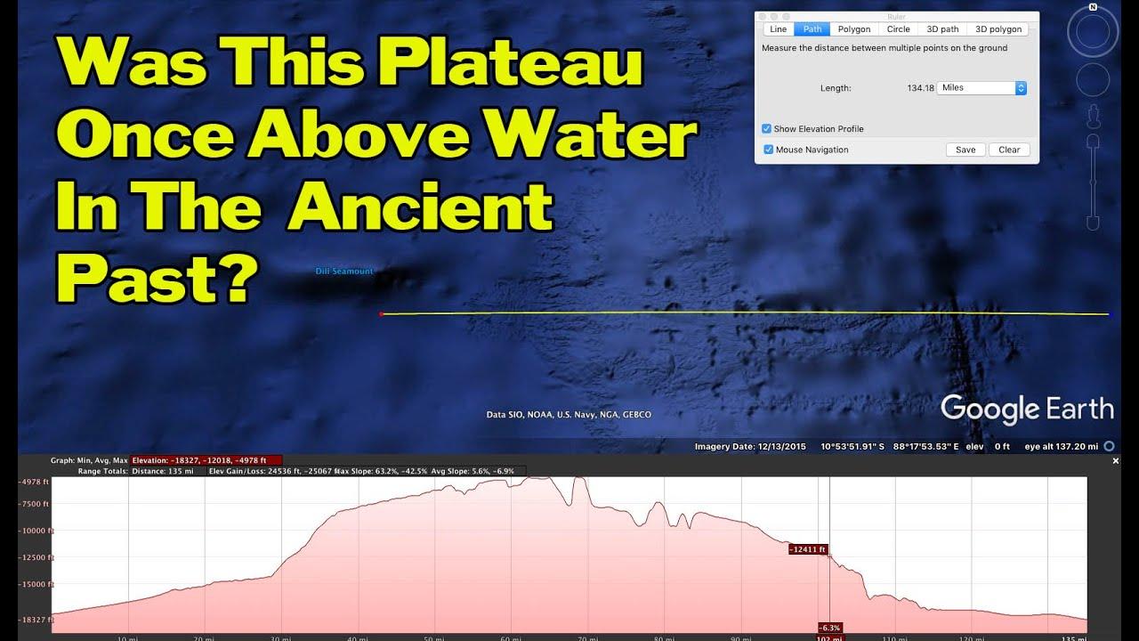 ancient past underwater