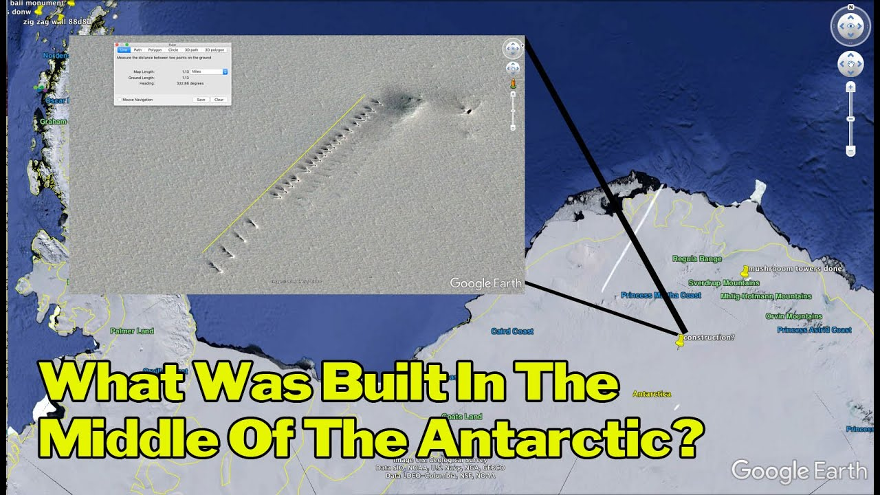 Is This A Secret Military Base In The Antarctic?