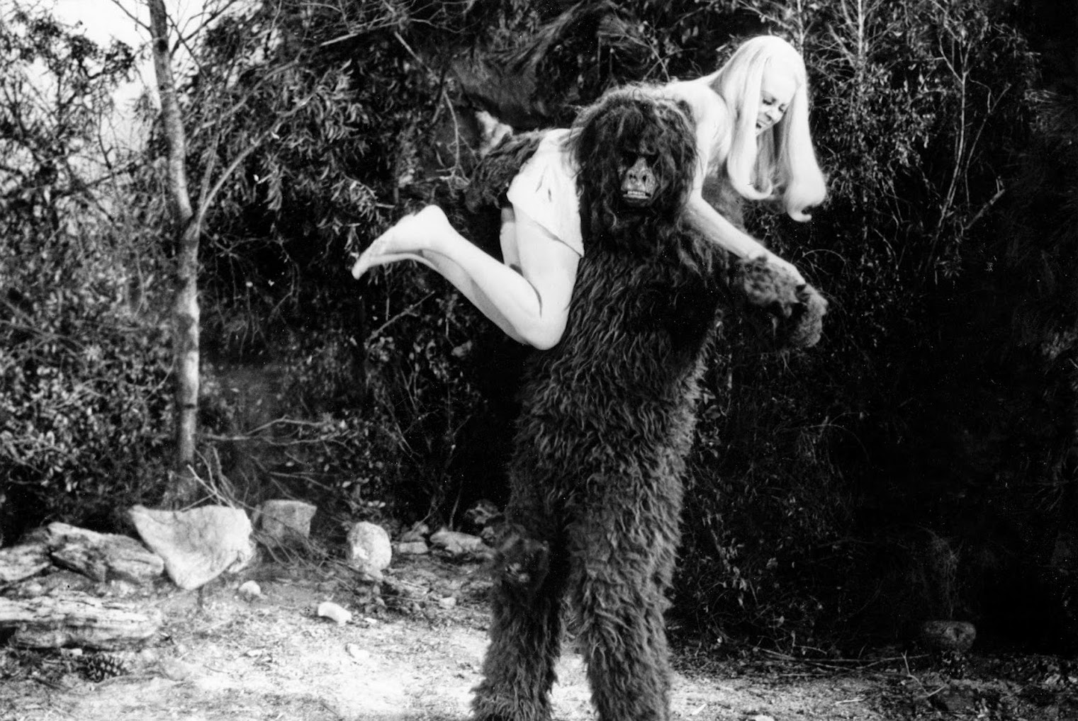bigfoot kidnaps woman