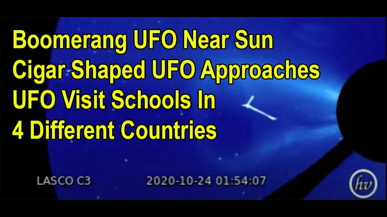 More UFO Sightings – UFO Found In Google Sky – UFOs Visits School Yards In 4 Different Countries
