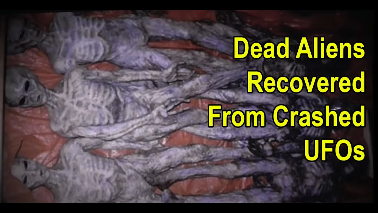 Clear Video of UFO – Video Of Dead Alien Recovered From Crashed UFOs – Anti-Gravity Suppression?