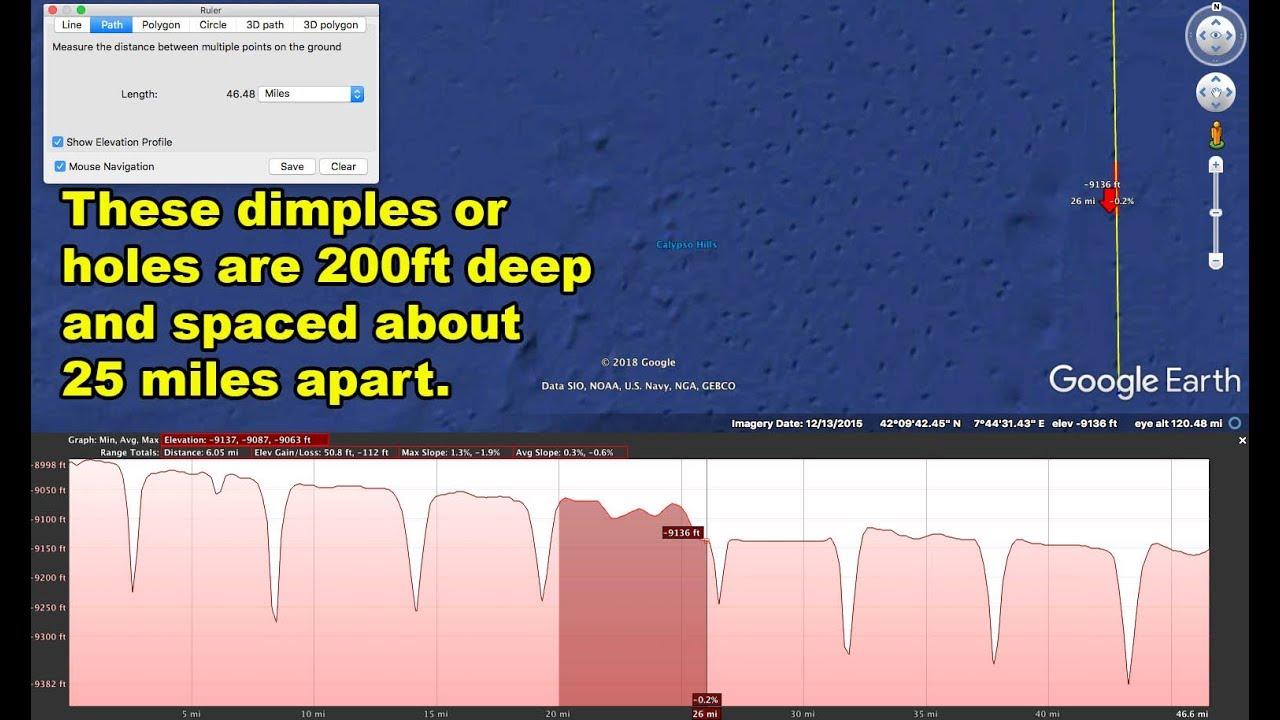 Strange Underwater Features On Ocean Floor Near Corsica and Sardinia – Ancient Civilizations?