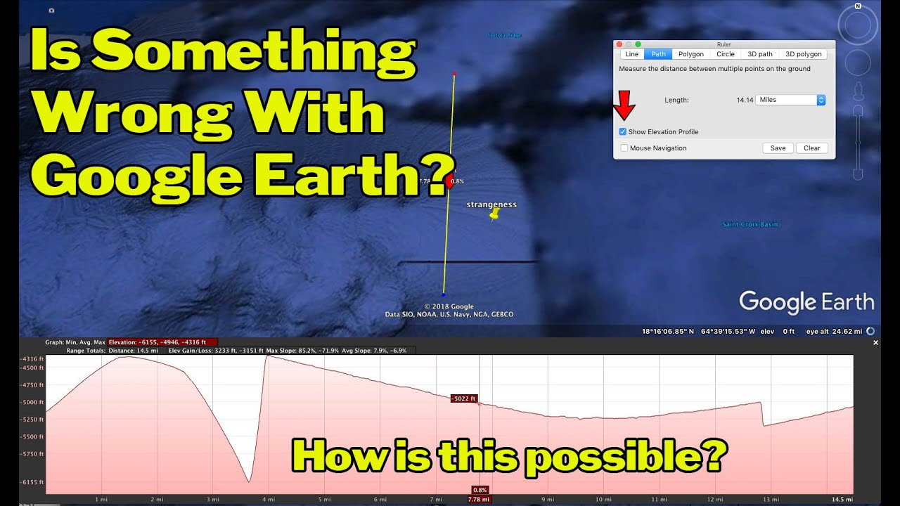 google earth mystery