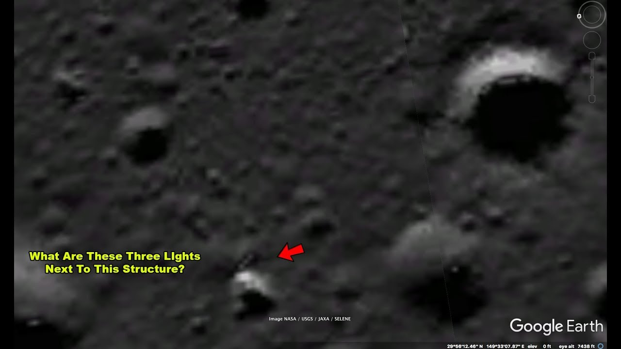 hidden ufo on moon