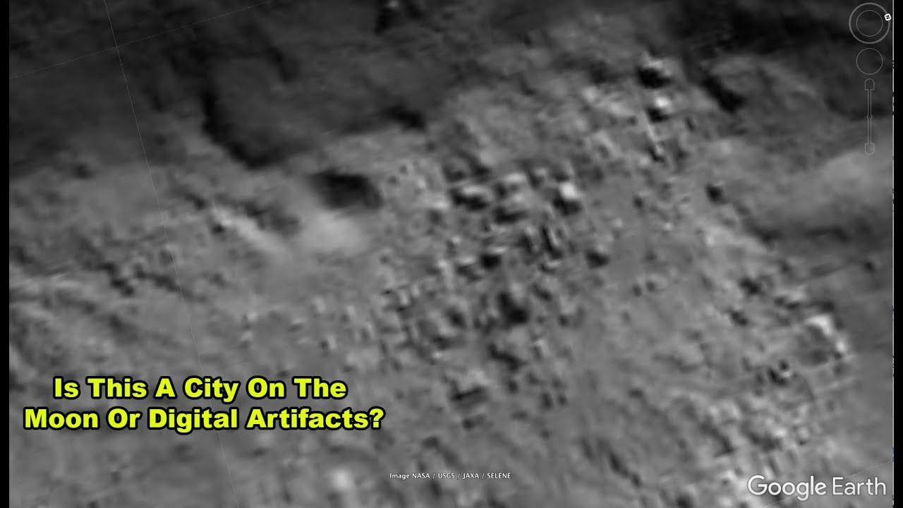 Are These Structures On The Moon Inside Tycho Crater?