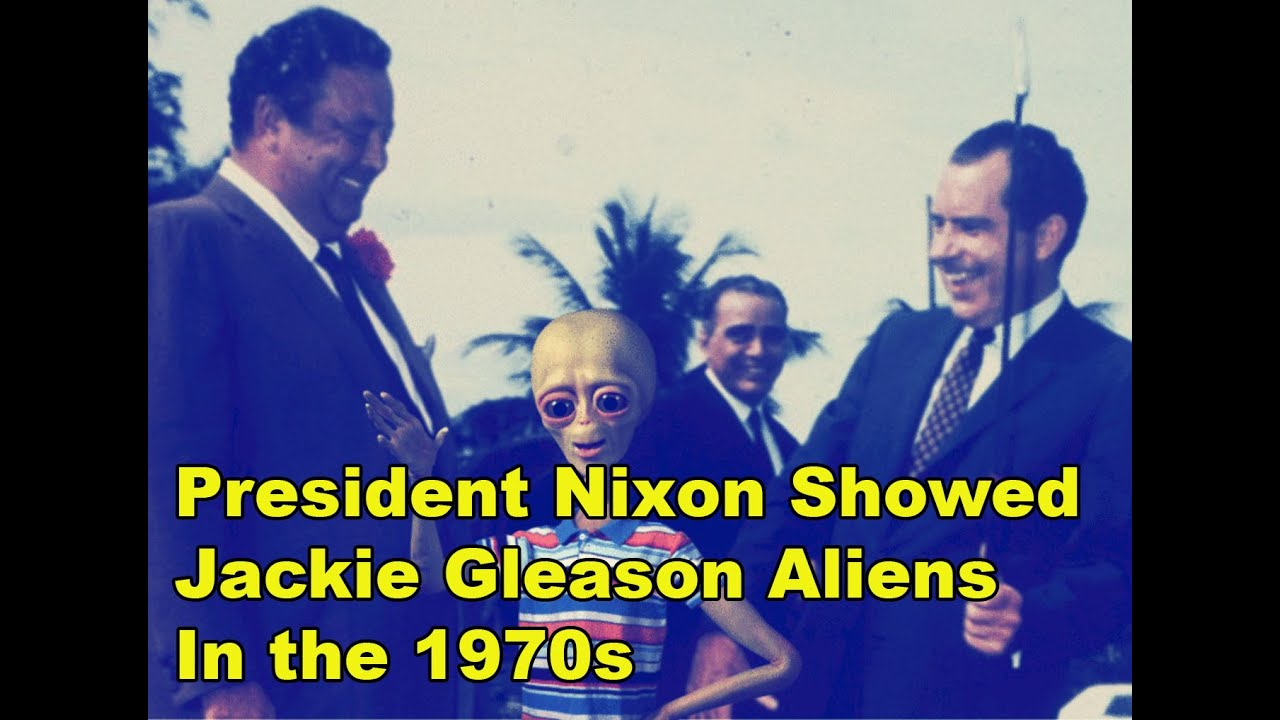 nixon showed gleason aliens