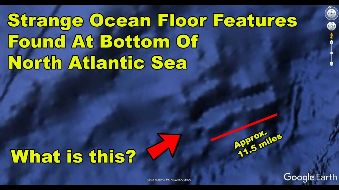 Strange Underwater Features Found In North Atlantic Ocean