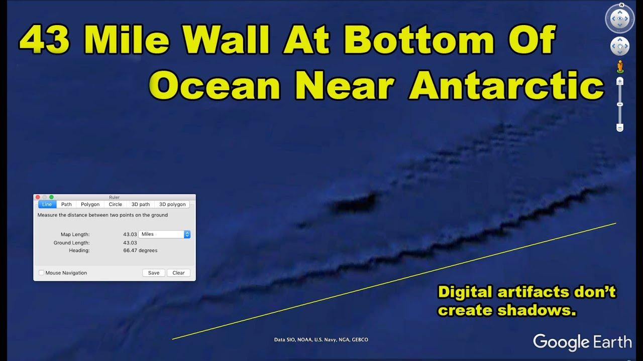 Strange Anomalies At Bottom Of Ocean Near Antarctica