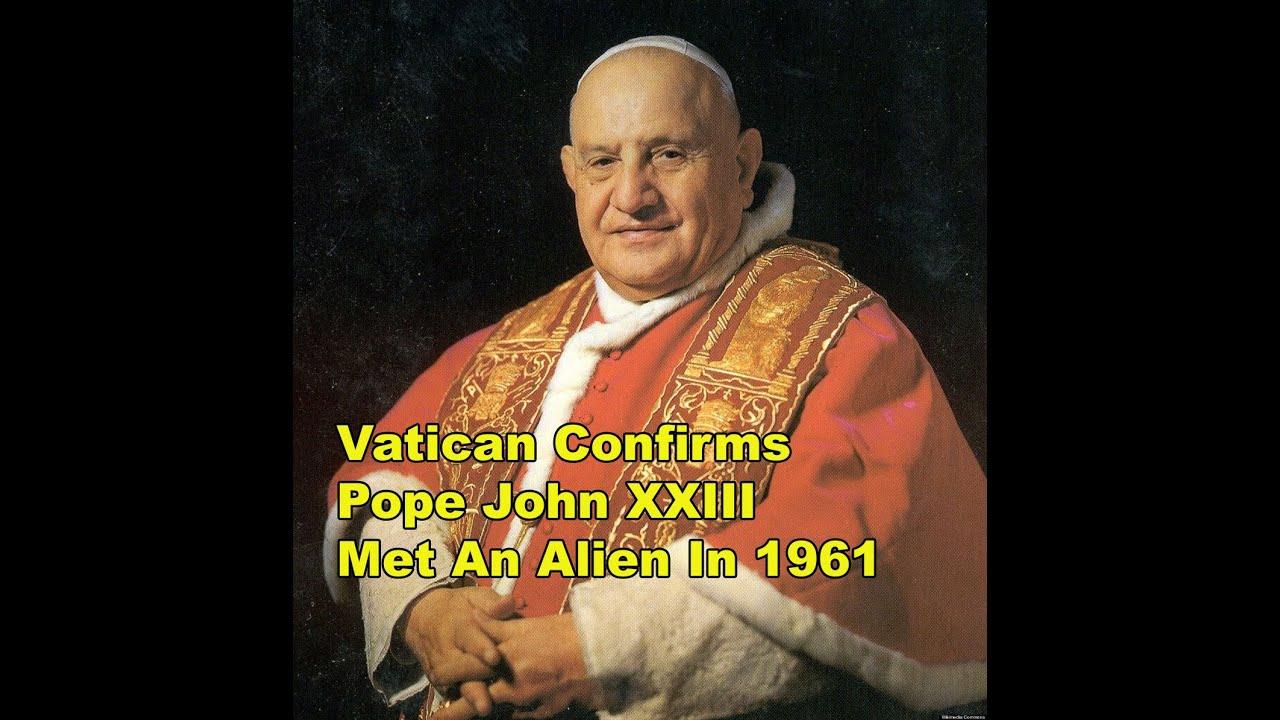 pope met aliens
