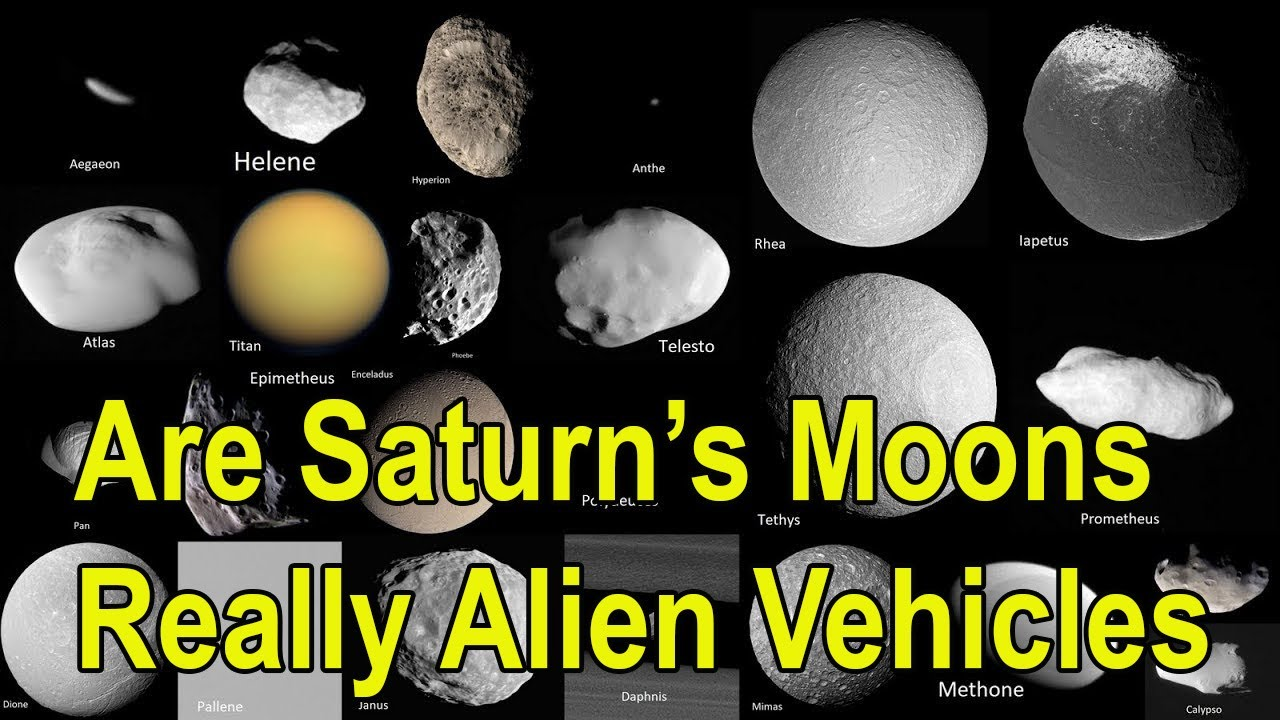 UFOs Filmed In Mexico and Desert In Jordan – Man Claims Saturn Moons Are Actually Alien Ships