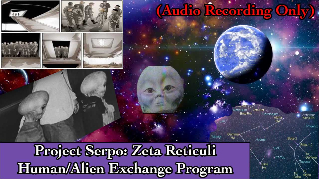 Project Serpo: Human And Alien Exchange Program To The Planet Serpo