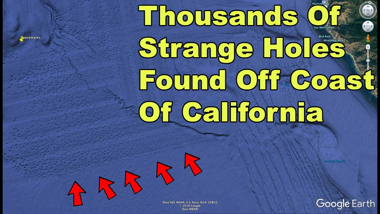 Mysterious Holes Found Off Coast Of California