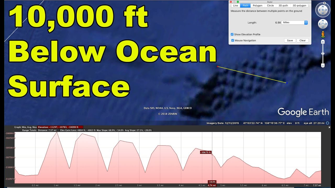 strange ocean floor patterns
