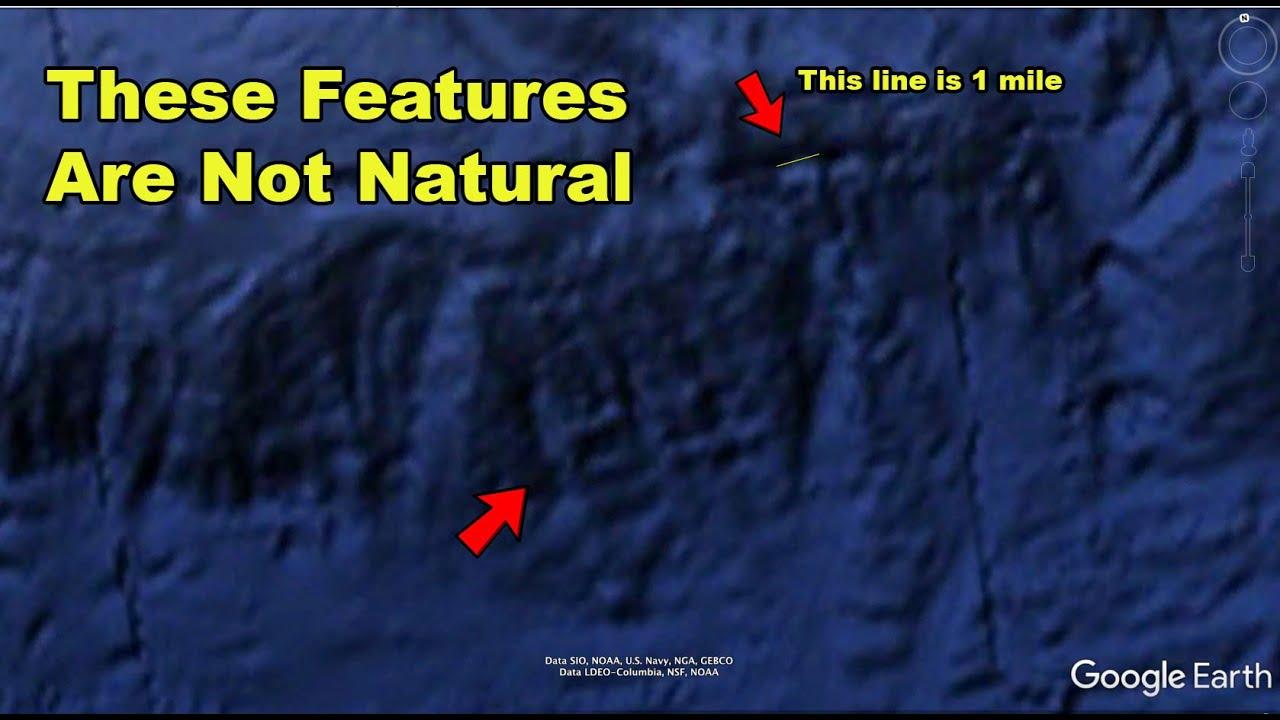 strange underwater features
