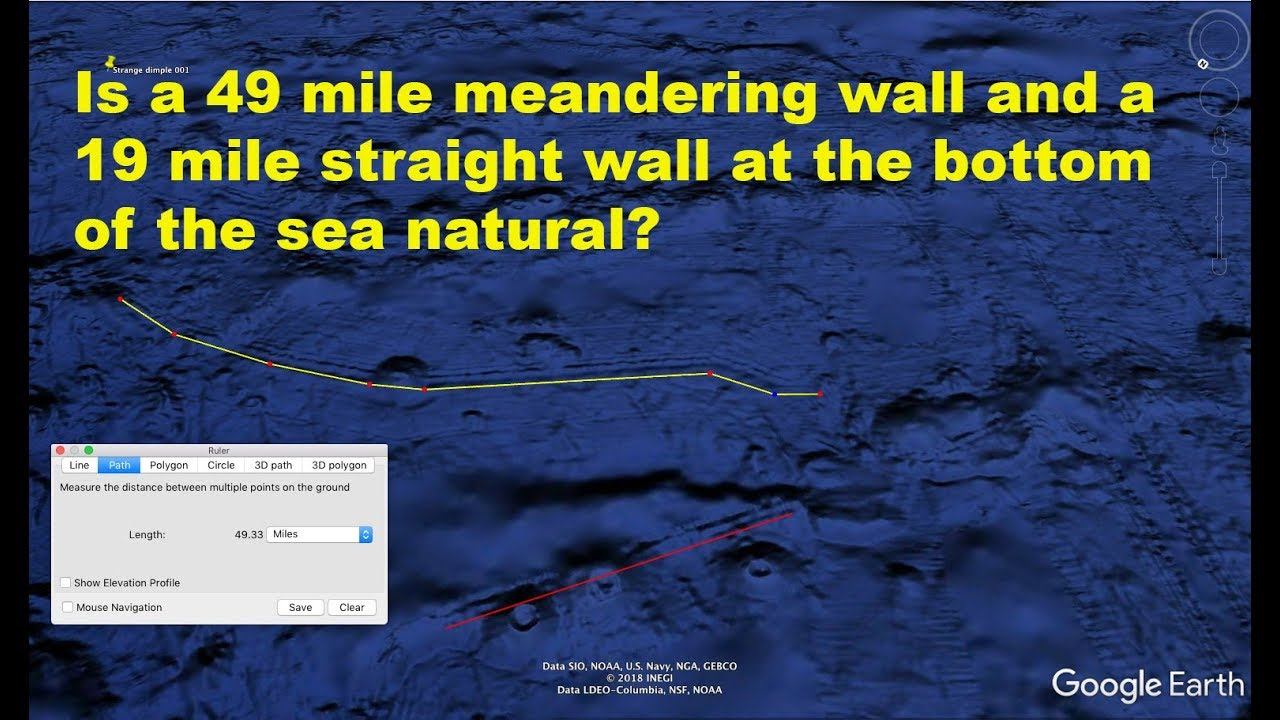 Strange Underwater Anomalies In Pacific Ocean West Of Mexico