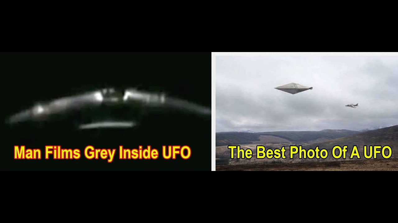Grey Alien Filmed In UFO – Russian Claims They're At War With Underwater Aliens – Trump Talks UFOs