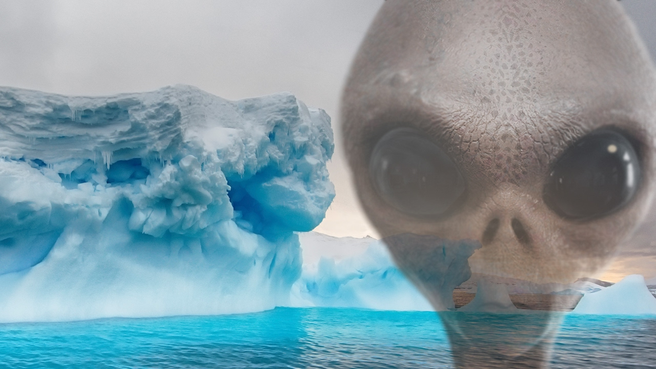 ufo antarctic entrance