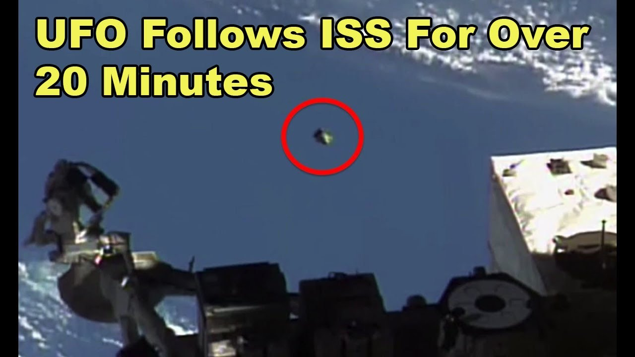 ufo follows iss