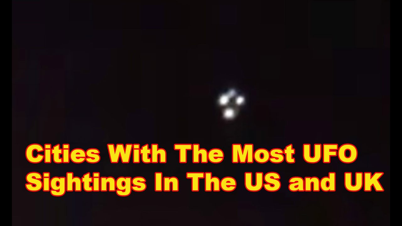 UFO Hotspots In The US and UK