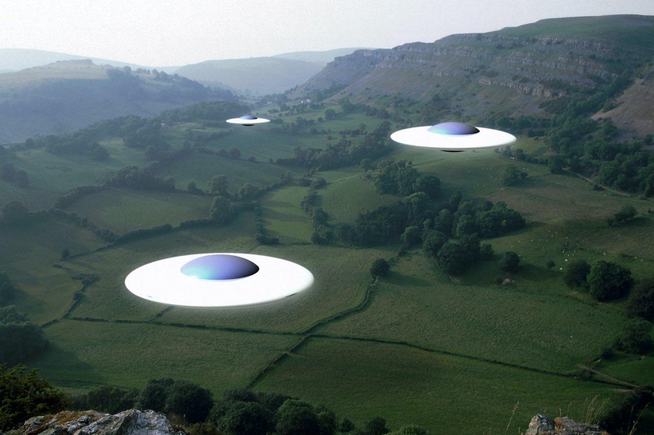 ufo mass sightings