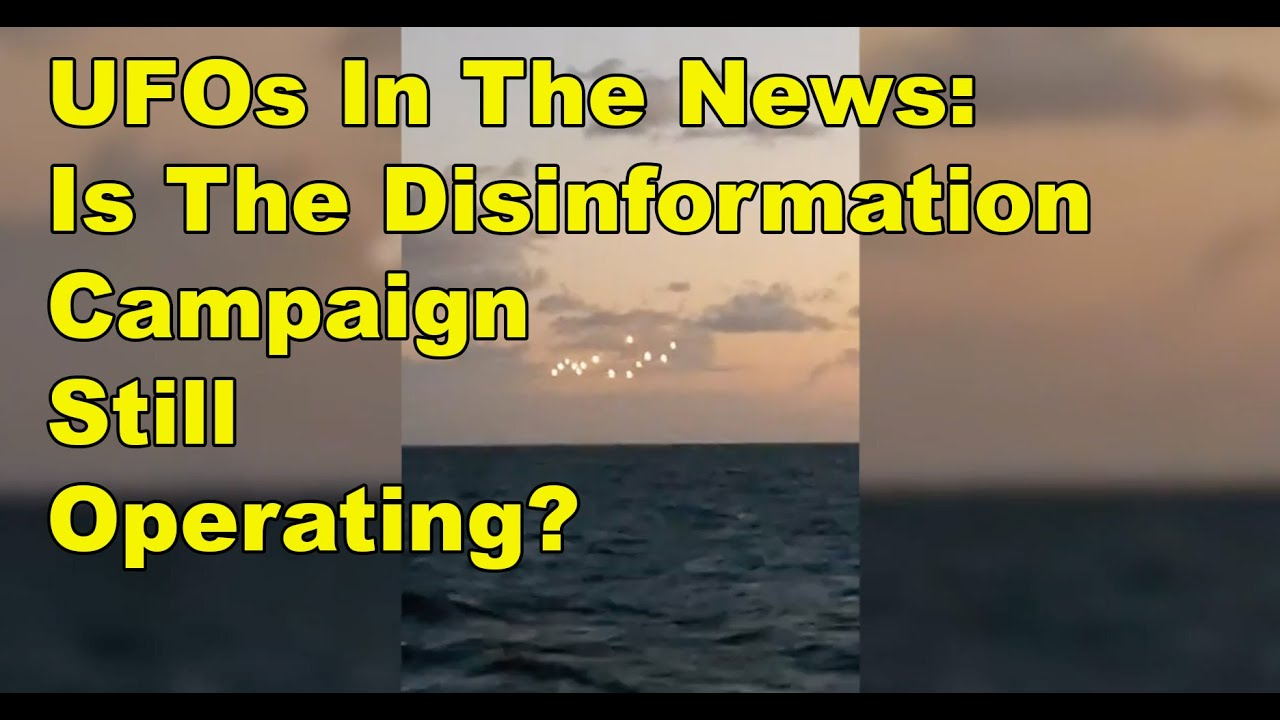 UFOs In The News – Strange Lights in NC – Buddhist Aliens – Navy Admits UAPs Are Real