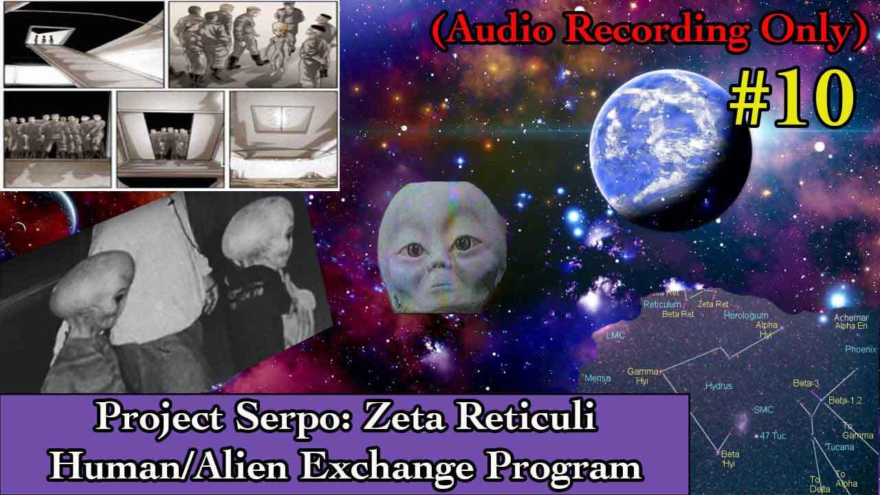 Project Serpo: Human Alien Exchange Program – Team Members Learn Other Aliens Visit Planet Serpo