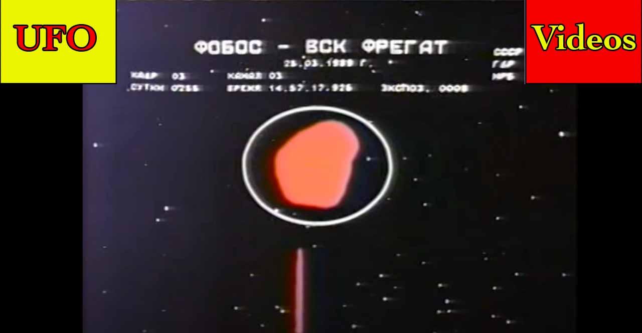 UFO on Fire – Spherical Shaped UFO – UFO Seen By USS Omaha – Something Under the Ice – Phobos II UFO